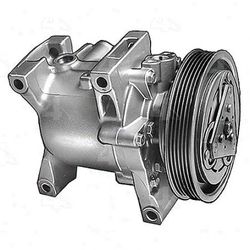 Factory Air A/c Compressor W/clutch - 57449
