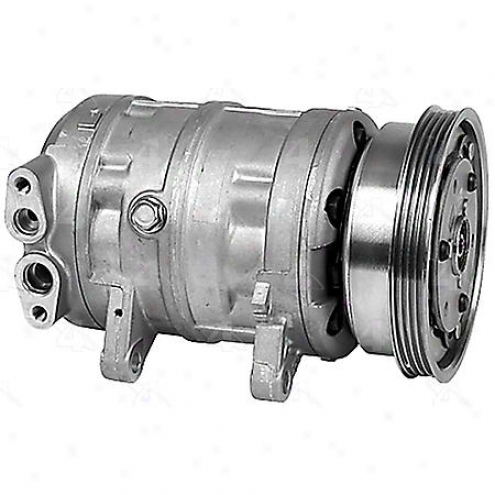 Factory Air A/c Compressor W/clutch - 57455