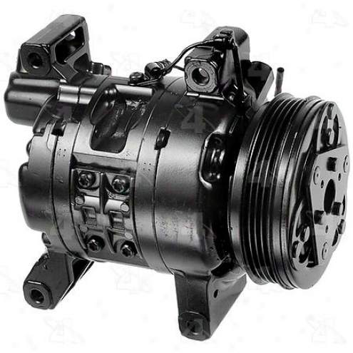 Factory Air A/c Compressor W/clutch - 57458