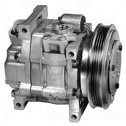Factory Air A/c Compressor W/clutch - 57490