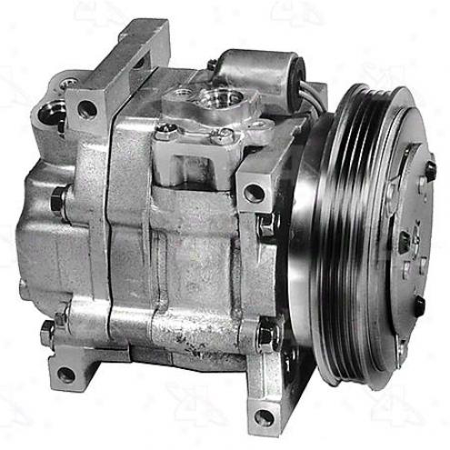 Factory Air A/c Compressor W/clutch - 57490