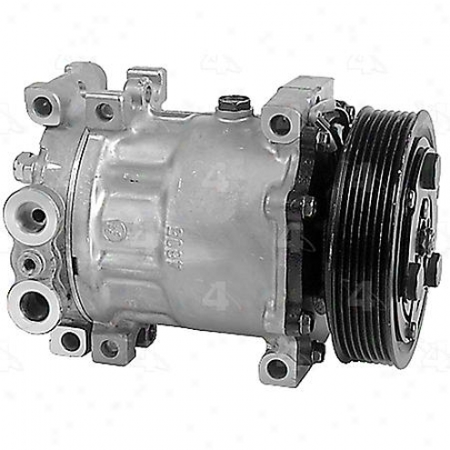 Factory Air A/c Compressor W/clutch - 57553