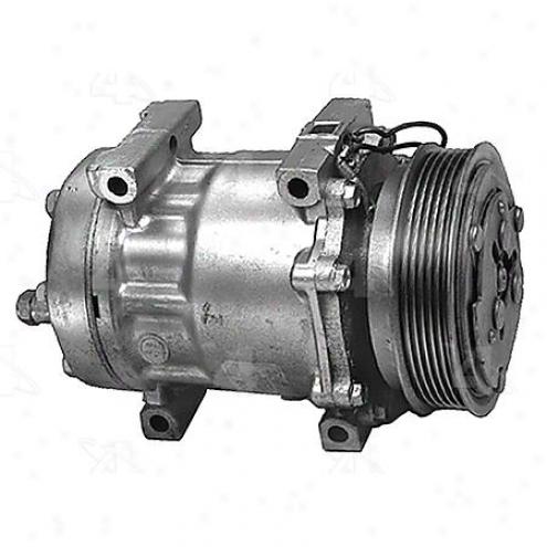 Factory Air A/c Compressor W/clutch - 57555