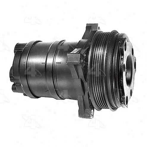 Factory Air A/c Compressor W/clutch - 57668