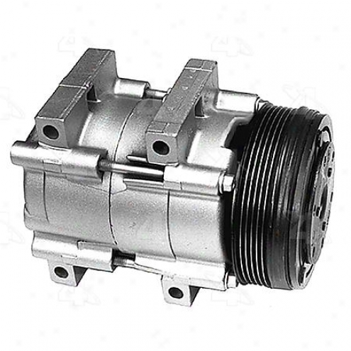 Factory Air A/c Compressor W/clutch - 58132
