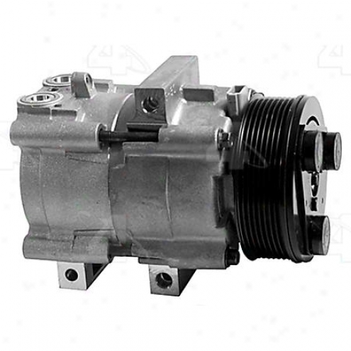 Factory Air A/c Compressor W/clutch - 58149