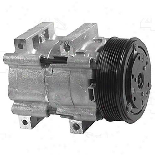 Factory Air A/c Compressor W/clutch - 58150
