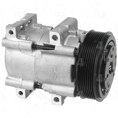 Factory Air A/c Compressor W/clutch - 58161
