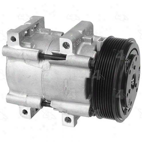 Factory Air A/c Compressor W/clutch - 58161