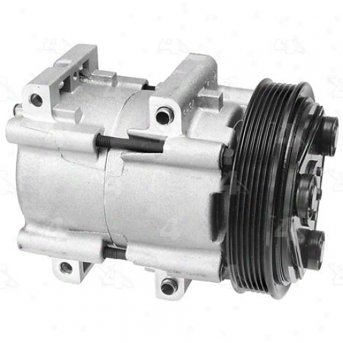 Factory Air A/c Compressor W/clutch - 58163
