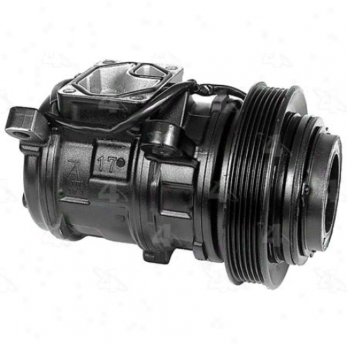 Factory Air A/c Compressor W/clutch - 58386