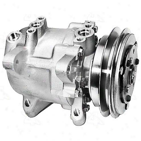 Factory Air A/c Compressor W/clutch - 58434