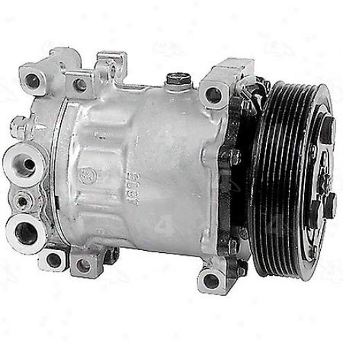 Factory Air A/c Compressor W/clutch - 58553