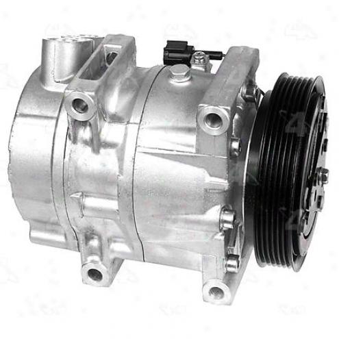 Factory Air A/c Compressor W/clutch - 67453
