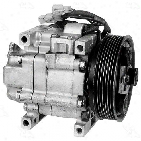 Factory Air A/c Compressor W/clutch - 67471
