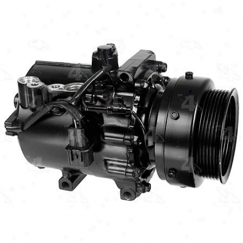 Factory Air A/c Compressor W/clutch - 67487