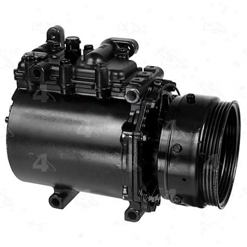Factory Air A/c Compressor W/clutch - 67489