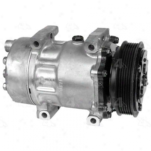 Factory Air A/c Compressor W/clutch - 67551