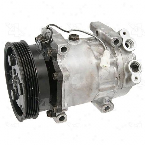 Factory Air A/c Compressor W/clutch - 67575