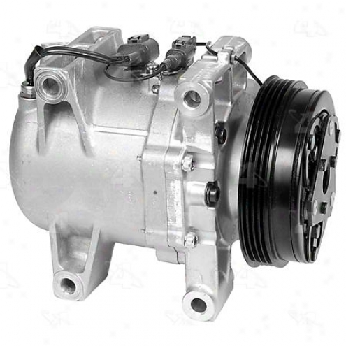 Factory Air A/c Compressor W/clutch - 67653