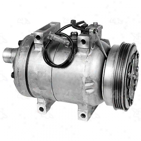 Factory Air A/c Compressor W/clutch - 68451
