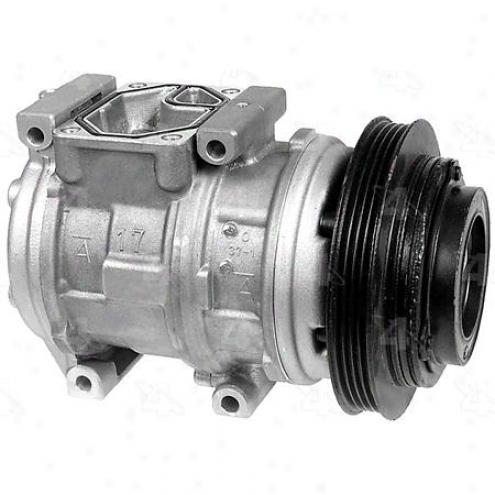 Factory Air A/c Compressor W/clutch - 77316