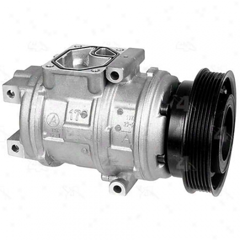 Factory Air A/c Compressor W/clutch - 77341
