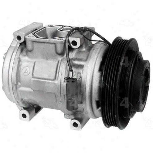 Factory Air A/c Compressor W/clutch - 77350