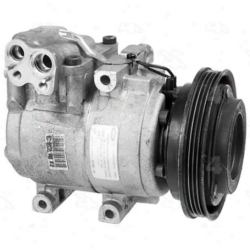 Factory Air A/c Compressor W/clutch - 77366