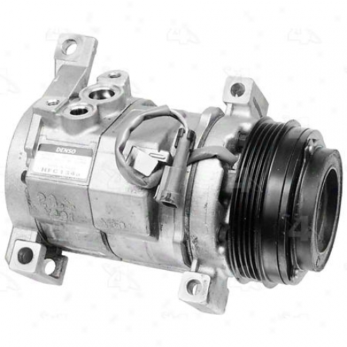 Factory Air A/c Compressor W/clutch - 77376