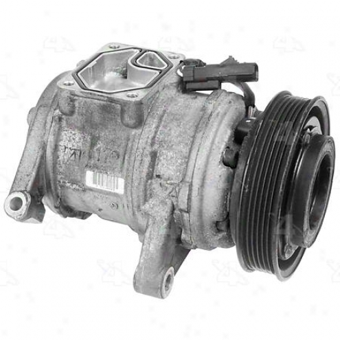 Factory Air A/c Compressor W/clutch - 77380