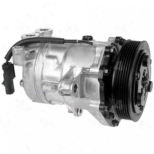 Factory Air A/c Compressor W/clutch - 77578