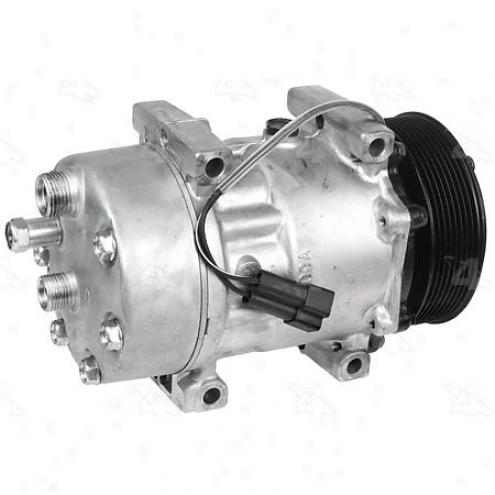 Factory Air A/c Compressor W/clutch - 78594