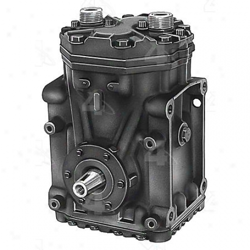 Factory Air A/c Compressor W/o Clutch - 57064