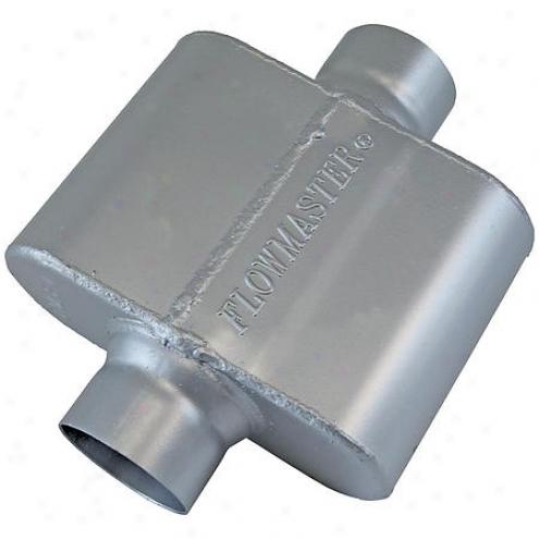 Flowmaster Inc. Muffler - 2-1/2 Inch Id Inlet - 325108