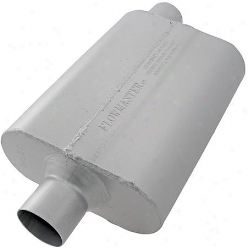 Flowmaster Inc. Muffler - 2.5 Inch Id Inlet - 942542