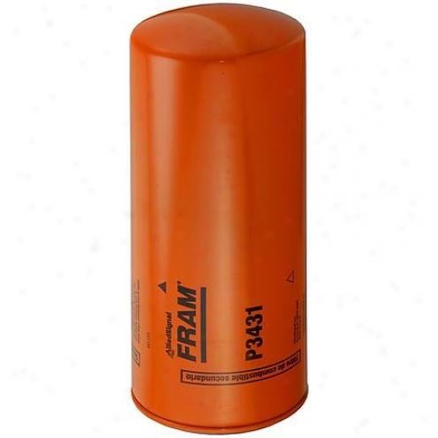 Fram Fuel Filter, Secondary Spin-on-  P3431