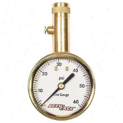 G.h. Meiser Tire Pressure Gauge - S60x/00881-8