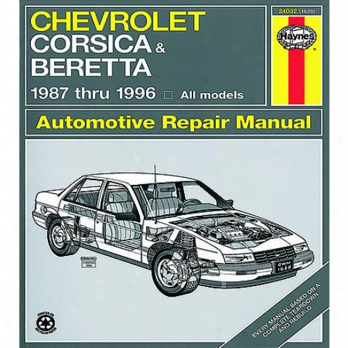 Haynes Repair Manual - Vehicle - 24032