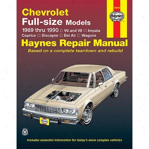 Haynes Repair Manual - Carriage  -24045