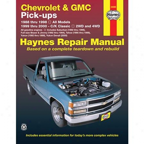 Haynes Repiar Manual - Vehucle - 24065