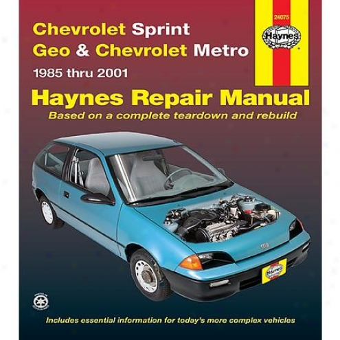 Haynes Repair Manual - Vehicle - 24075