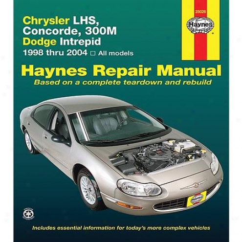 Haynes Mend Manual - Vehicle - 25026