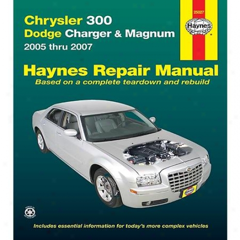 Haynes Repair Manual - Vehicle - 25027