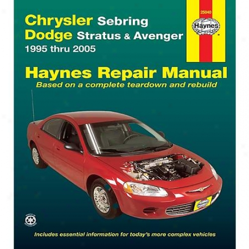 Haynes Repair Manual - Vehiclee - 25040