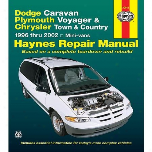Haynes Repair Manual - Vehicle - 30011