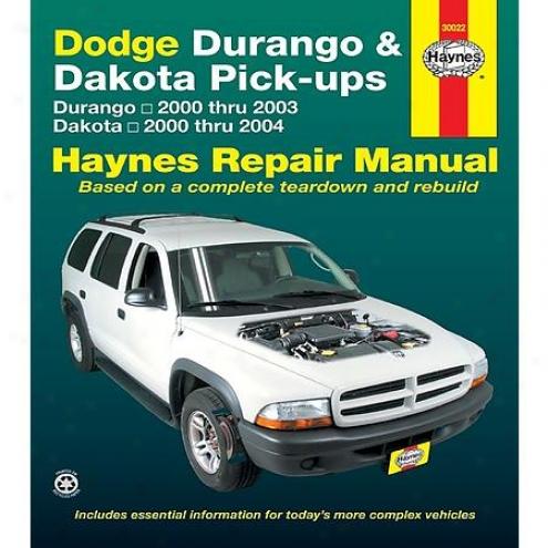 Haynes Redress Manual - Vehicle - 30022