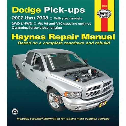 Haynes Repair Manual - Vehicle - 30042