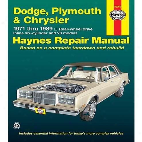 Haynes Repair Manual - Vehicle - 30050