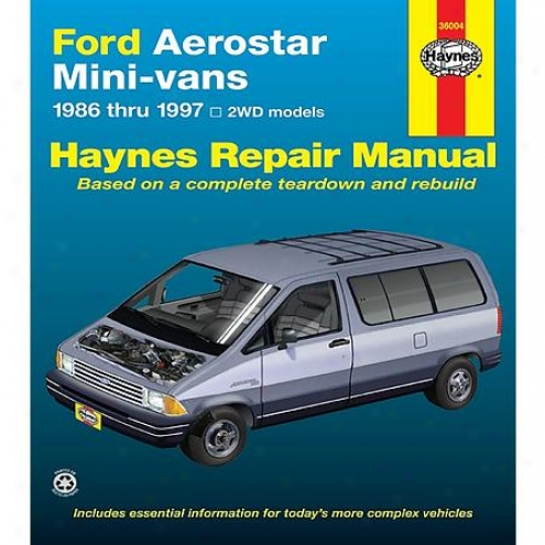 Haynes Repair Manual - Vehicle - 36004